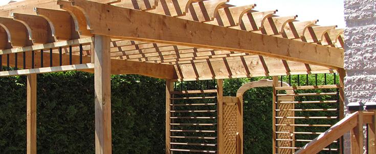 Bois traité brun - Matériaux de patio et terrasse -  Matériaux de Matériaux Anctil et Matériaux Magog